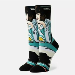 Stance Pulp Fiction Mia Booth Socks